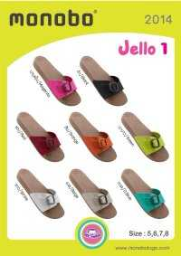 MONOBO รุ่น JELLO 1   รองเท้ายางแตะสวม