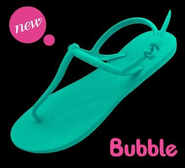 MONOBO รุ่น BUBLE (รุ่น บับเบิล) รองเท้ายางรัดส้นข้างหลัง เตี้ย ขายส่ง