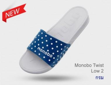 MONOBO Twist Low 3 รองเท้าแตะสวม ลายหมาน่ารักโมโนโบ รุ่น ทวิส โลว์ 3