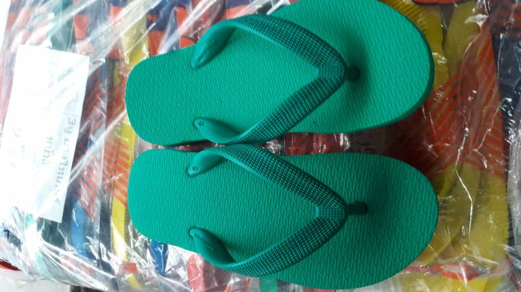 รองเท้าแตะคีบฟองน้ำ สีเขียว