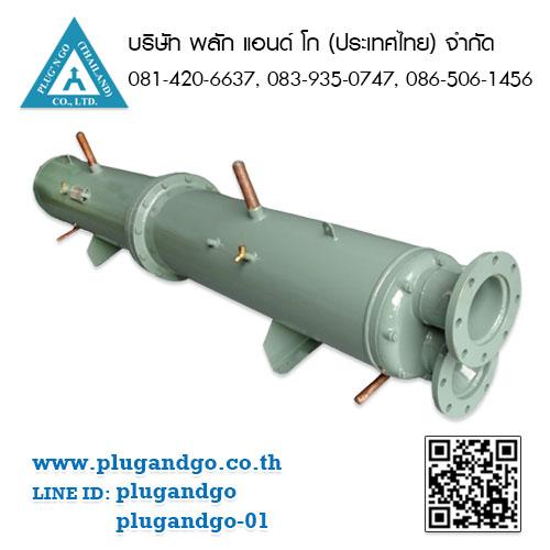 เครื่องแลกเปลี่ยนความร้อนแบบเชลล์แอนด์ทิวบ์ (Shell and Tube Heat Exchanger)