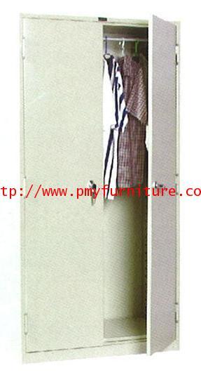 pmy8-4 ตู้เหล็กเก็บเสื้อผ้าชนิด 2 บานประตู