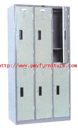 pmy8-7 ตู้ล็อคเกอร์ 6 บานประตู