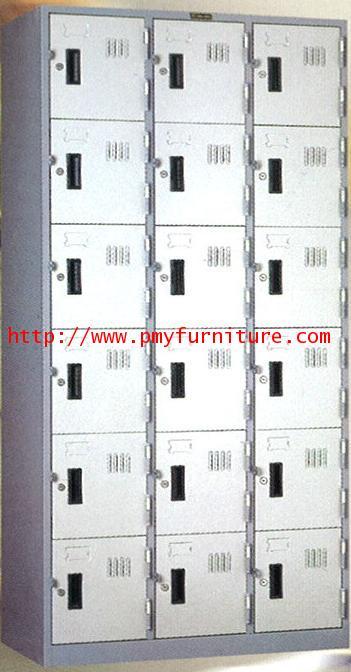 pmy8-10 ตู้ล็อคเกอร์ 18 บานประตู