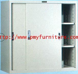 pmy8-15 ตู้เหล็กบานเลื่อนทึบ ขนาด 3 ฟุต