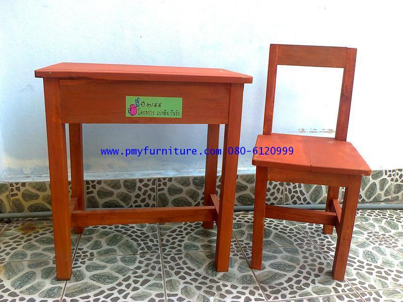 pmy22-4 งานตามแบบโต๊ะเก้าอี้นักเรียนโรงเรียนเต็มรักศึกษา นนทบุรี