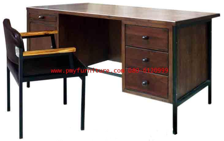 pmy3-3 โต๊ะเก้าอี้ครูระดับ 7-9