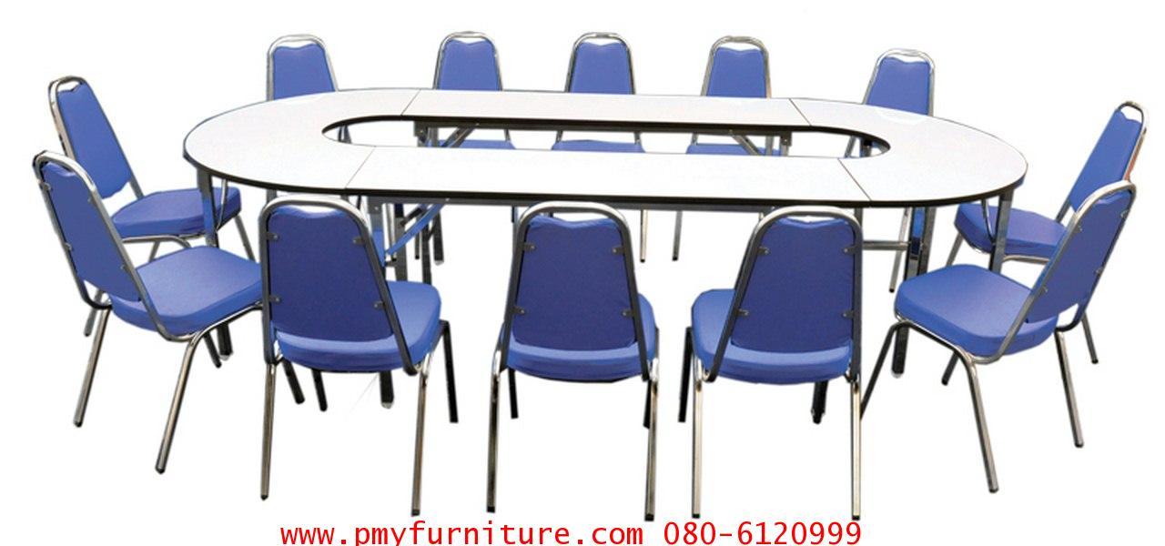 pmy6-4 ชุดโต๊ะเก้าอี้ประชุม STB 214