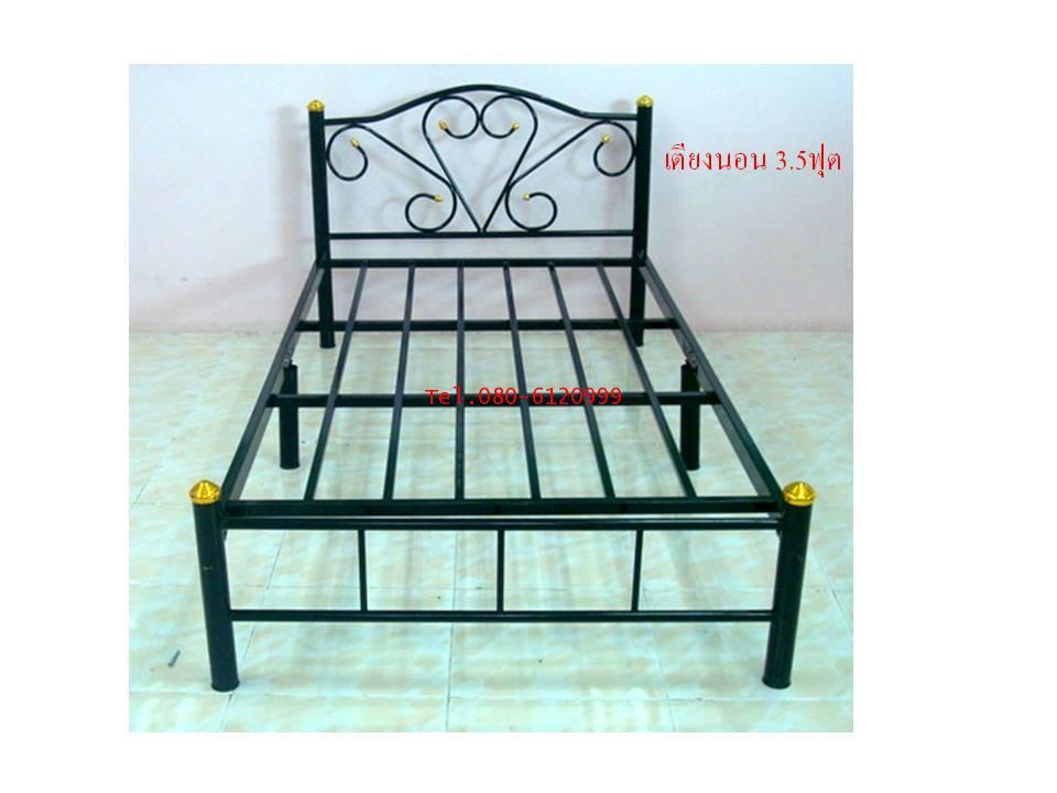 pmy34-2 เตียงนอนเหล็ก 3.5 ฟุต