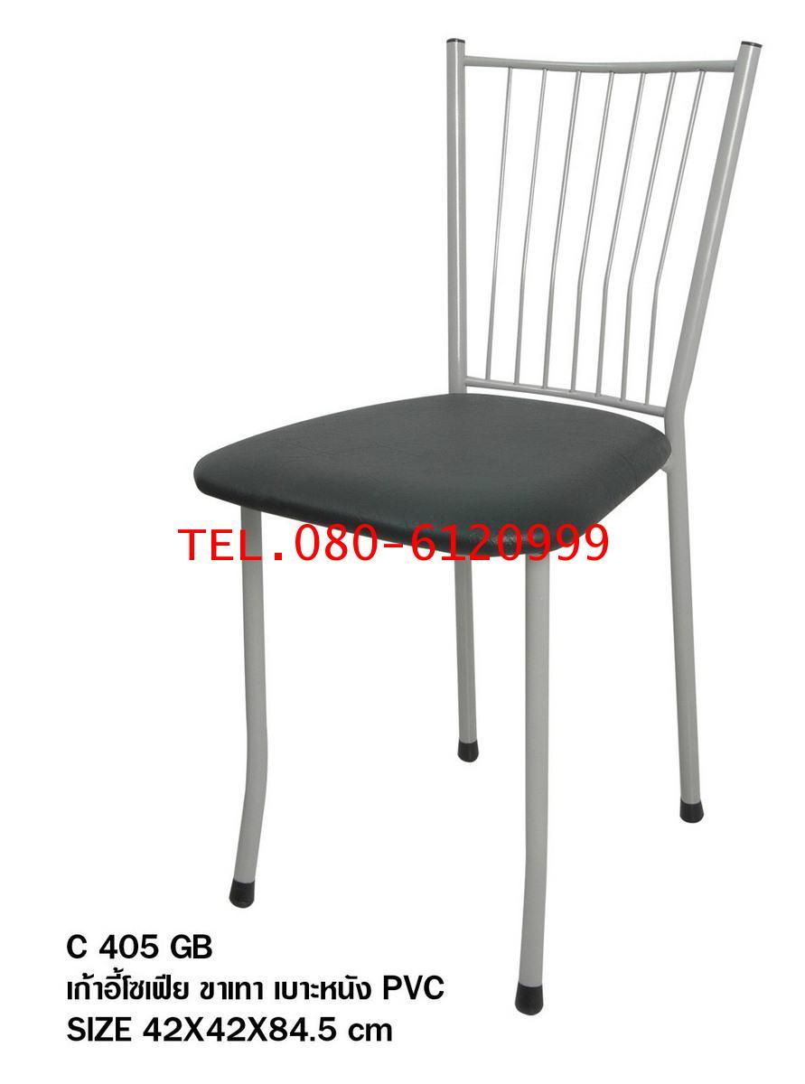 pmy29-18 เก้าอี้โซเฟีย ขาเทา เบาะหนัง PVC