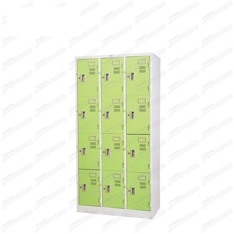 pmy14-10 ตู้ล็อคเกอร์ แบบ 12 บานประตู สีเขียว