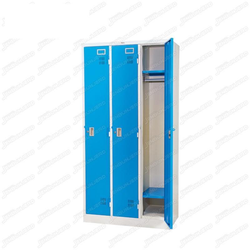 pmy14-3 ตู้ล็อคเกอร์ แบบ 3 บานประตู สีฟ้า