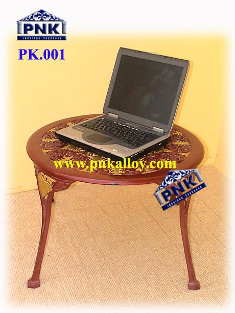 PK.001 โต๊ะอัลลอยกลม