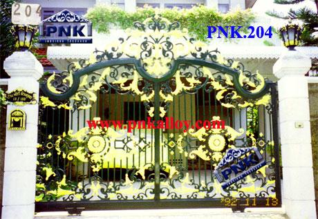PNK.204 ประตู **ลายเหรียญ**