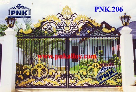 PNK.206 ประตู **ลายลักขณา**