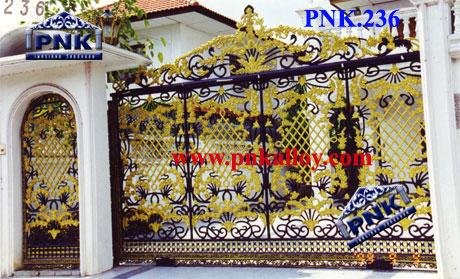 PNK.236 ประตู **ลายรวงข้าว**