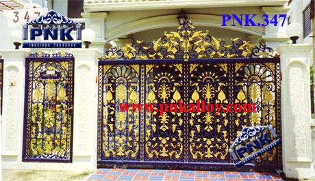 PNK.347 ประตู **ลายศรพันองุ่น**