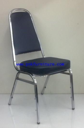 kkw7-2 เก้าอี้จัดเลี้ยงเบาะหนัง