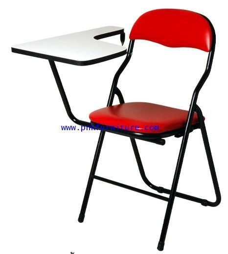 โต๊ะเก้าอี้นักเรียน เก้าอี้เบาะพับเลคเชอร์ รุ่นเบนช์ kkw7-10