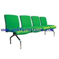 kkw8-3 เก้าอี้แถว 4 ที่นั่งหนัง