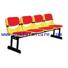 kkw8-8 เก้าอี้แถว 4 ที่นั่งเปลือกโพลี ขนาด 206*43*78 ซม.