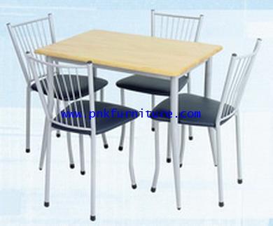 โต๊ะอาหารพร้อมเก้าอี้ kkw2-9