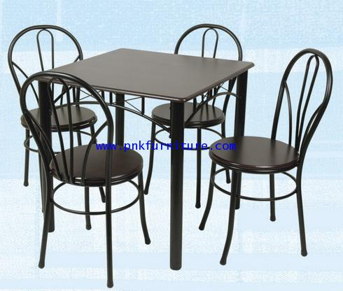 โต๊ะอาหารพร้อมเก้าอี้ kkw2-10