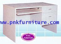 kkw11-2 โต๊ะทำงาน+โต๊ะคอม 2 ลิ้นชัก