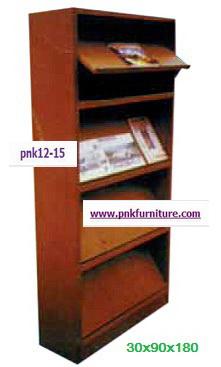 kkw12-15 ชั้นวางหนังสือชนิดเปิดได้