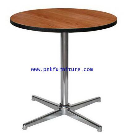 โต๊ะคาเฟ่กลม ขา 4 แฉก kkw2-19