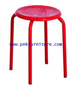 kkw7-22 เก้าอี้สตูลเหล็กกลม