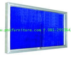 kkw21-6 กระดานไวท์บอร์ดแบบติดกระจก
