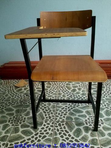 โต๊ะเก้าอี้นักเรียน เก้าอี้เลคเชอร์ ก.03 kkw1-14