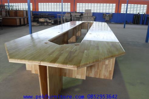 kkw16-10 โต๊ะประชุม ขนาด 24 ที่นั่ง