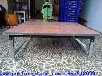 โต๊ะพับเอนกประสงค์ หน้าโต๊ะเมลามีน kkw2-24 1
