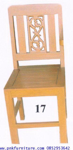 kkw20-11 เก้าอี้ลายฉลุ