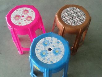 kkw5-22 เก้าอี้กลม 6 ขา