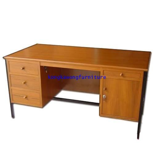 โต๊ะเก้าอี้นักเรียน โต๊ะทำงานข้าราชการ ระดับ 7-9 kkw1-32