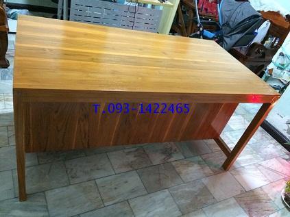 โต๊ะเก้าอี้นักเรียน โต๊ะทำงานไม้สัก kkw1-42 2