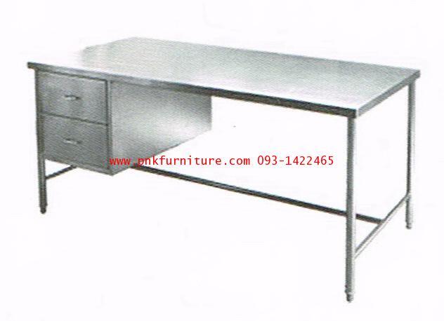 kkw19-1 โต๊ะทำงานสแตนเลส