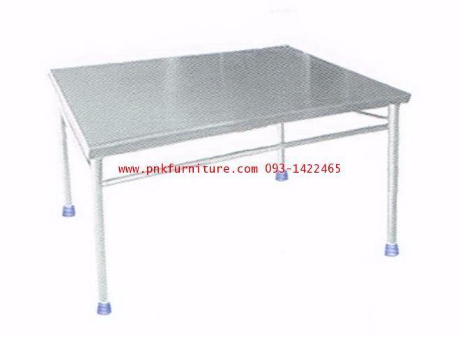 kkw19-3 โต๊ะสแตนเลส