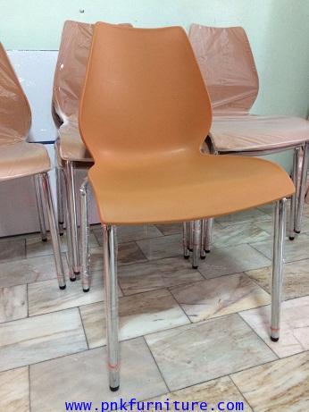 kkw7-11 เก้าอี้โพลีโพรพิลีน ขาชุป