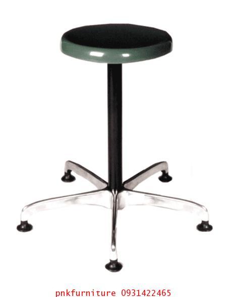 เก้าอี้บาร์กลมที่นั่งไฟเบอร์กลาส kkw6-12