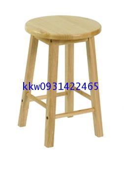 โต๊ะเก้าอี้นักเรียนห้องวิทยาศาสตร์ เก้าอี้สตูลไม้ยางพารา kkw1-19