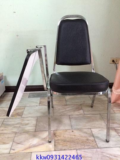 โต๊ะเก้าอี้นักเรียน เก้าอี้แลคเชอร์จัดเลี้ยง เหล็กนา1.2มม. kkw7-27