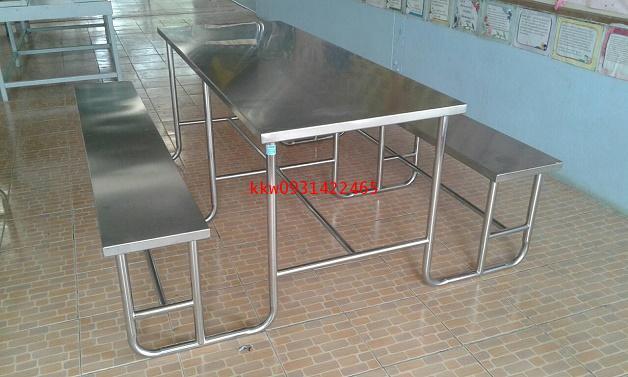 โต๊ะโรงอาหารสแตนเลส kkw2-16