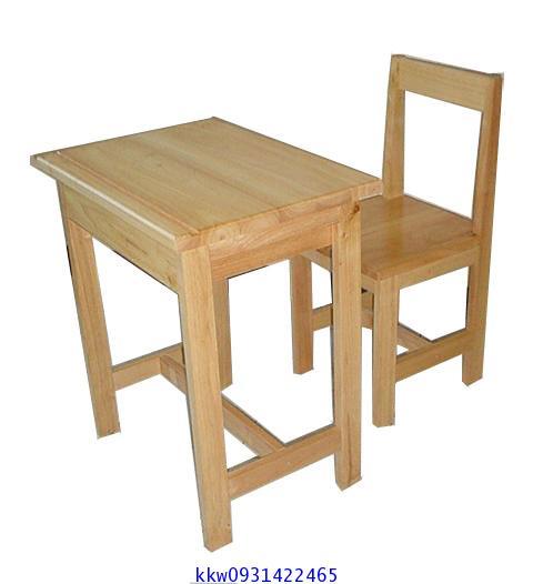 โต๊ะเก้าอี้นักเรียนไม้ยางพารา ระดับประถม-มัธยม kkw1-8