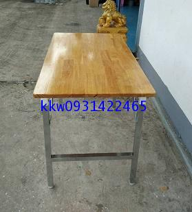 โต๊ะพับเอนกประสงค์หน้าไม้ยางพารา kkw2-38 1