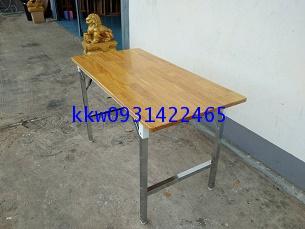 โต๊ะพับเอนกประสงค์หน้าไม้ยางพารา kkw2-38 2