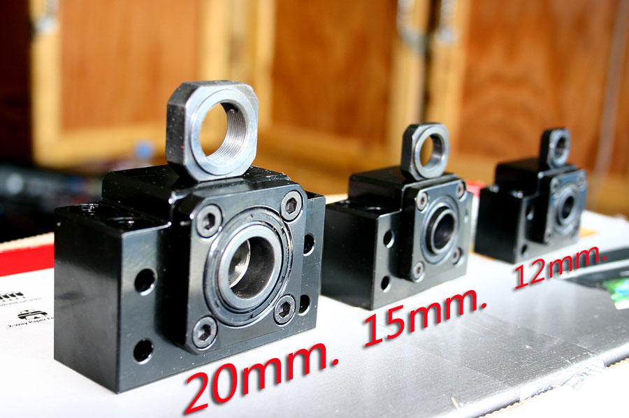 Ball screw Support แกนในขนาด⌀ 15mm.